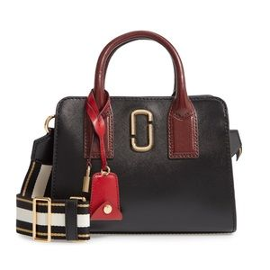 Marc Jacobs Black & Red Little Big Shot Bag